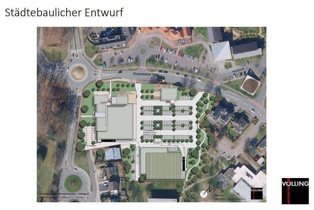 FDP Bedburg-Hau informiert über geplante Bebauung im Gemeindezentrum