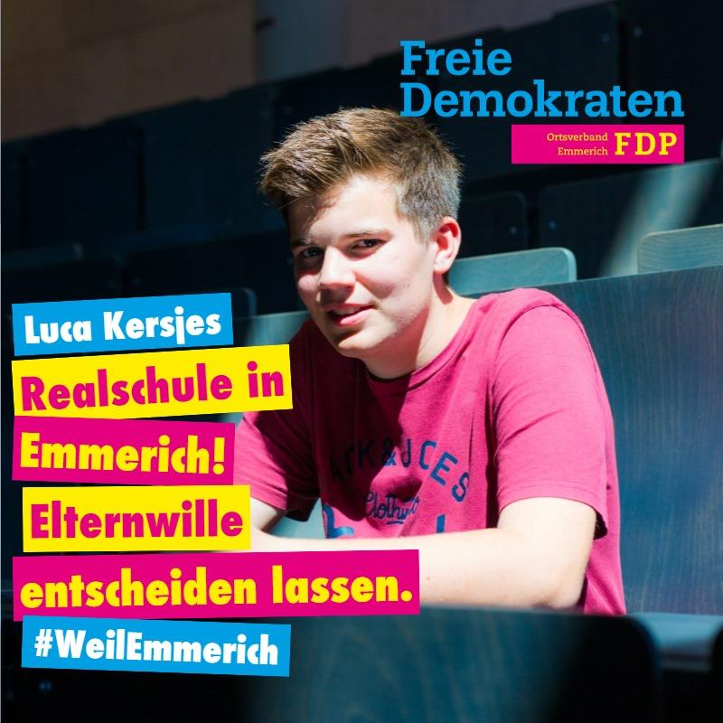 Neue Realschule in Emmerich – Elternwille entscheiden lassen!