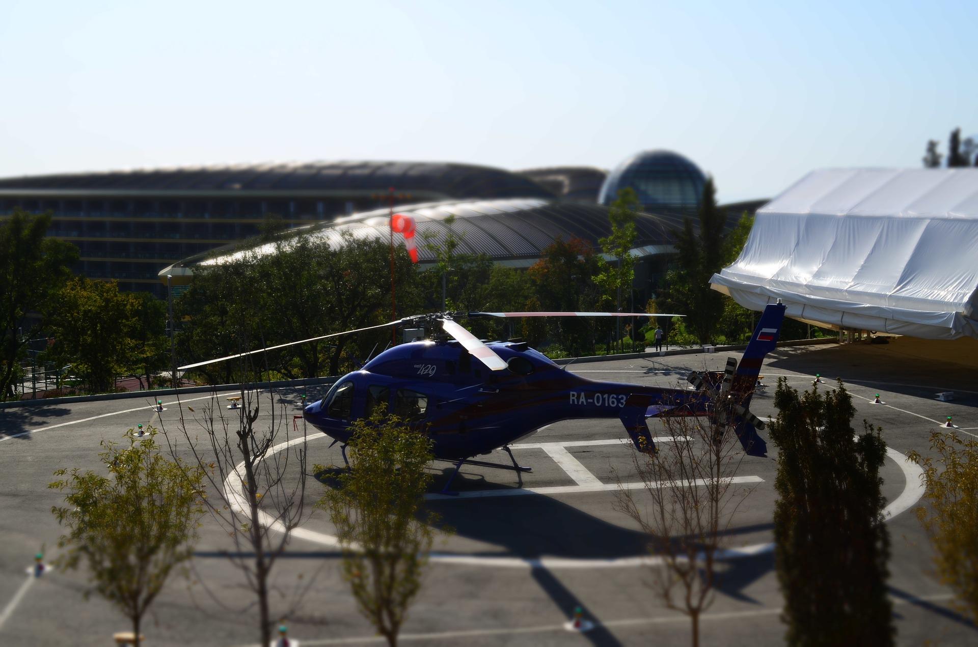 FDP fordert neuen Hubschrauberlandeplatz